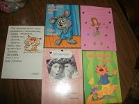 Отдается в дар современные открытки