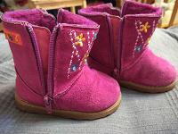 Отдается в дар Теплые ботиночки, 21 размер.