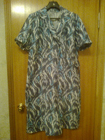 Отдается в дар Платье сатиновое СССР 56 размер