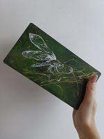Отдается в дар Шкатулка с ручной росписью