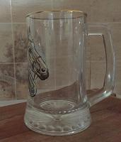 Отдается в дар Кружка пивная с лошадками