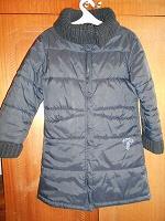 Отдается в дар Куртка тёплая девочке р. 146