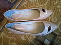 Отдается в дар Туфли балетки новые 36,5- 37 размер
