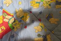 Отдается в дар Одеяло детское теплое стеганное