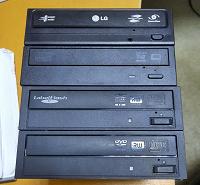 Отдается в дар DVD приводы SATA, рабочие