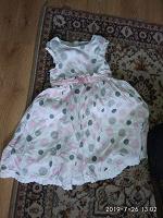 Отдается в дар Платье 116 праздничное летнее