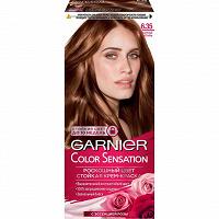 Отдается в дар Крем-краска для волос GARNIER Color Sensation 6.35 золотой янтарь