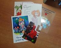 Отдается в дар открытки…