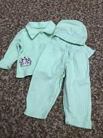 Отдается в дар Хлопковый костюм на 3-6 месяцев