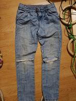 Отдается в дар джинси для дівчинки 8-12