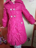Отдается в дар Осенняя куртка девочке