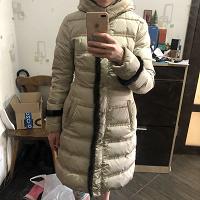 Отдается в дар Зимний пуховик Conver 44 размер женский