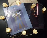 Отдается в дар Тетради в клетку «Доктор кто» и «Звёздные войны»