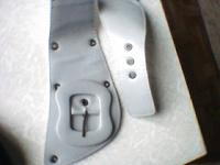 Отдается в дар Ремень новый светло-серый частично на резинке