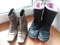 Отдается в дар Осенняя обувь 32 размер