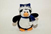 Отдается в дар Мягкая игрушка «Новогодний пингвин»