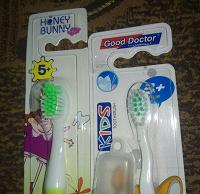 Отдается в дар зубные щетки