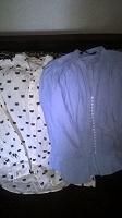 Отдается в дар Девчачьи блузки (40?) ZARA и H&M
