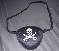 Отдается в дар Пиратская накладка на глаз