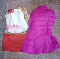 Отдается в дар Пакет одежды на 110 рост девочке