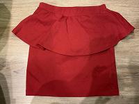 Отдается в дар Красная юбка с баской Zara, р-р М, 42-44