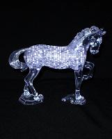 Отдается в дар Пазл «конь»
