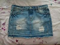 Отдается в дар Юбка джинсовая размер L