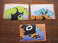 Отдается в дар 5 наклеек «Space Jam», из 2 разных серий