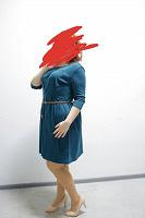 Отдается в дар Зелёное платье
