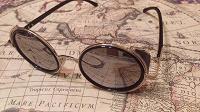 Отдается в дар Круглые зеркальные солнечные очки