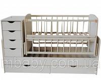 Отдается в дар Детская кроватка-трансформер