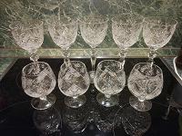 Отдается в дар Хрустальные фужеры, стеклянные бокалы