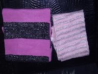 Отдается в дар Два розовых шарфика