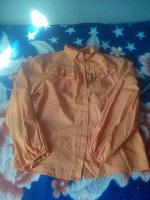 Отдается в дар Очаровательная блуза 46-48