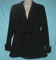 Отдается в дар Пиджак женский черный. 44 размер