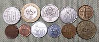 Отдается в дар 11 монет 11 апреля