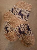 Отдается в дар Теплые носки 37