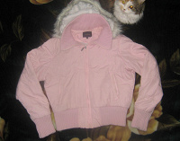 Отдается в дар Курточка светло-розовая