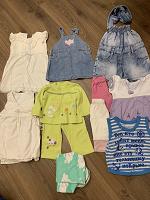 Отдается в дар Одежда для девочки до года и после