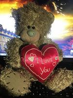 Отдается в дар Мишка Тедди с сердечком