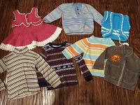 Отдается в дар Одежда и обувь малышам от 1 до 2