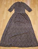 Отдается в дар Новое летнее платье из штапеля, 42 разм., на высокий рост