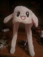 Отдается в дар смешная кроле-шапка