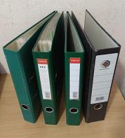 Отдается в дар Папки регистраторы + файлы