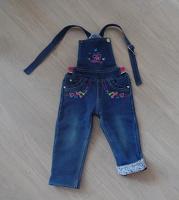 Отдается в дар Утепленные джинсы для малышки