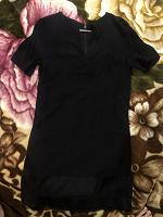 Отдается в дар Чёрное платье XS