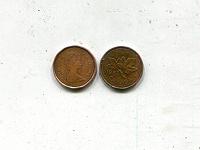 Отдается в дар В коллекцию — Канада 1 цент 1982