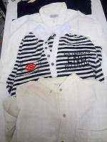 Отдается в дар Рубашка, футболка, и футболка длинным рукавом