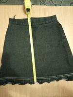 Отдается в дар Черная джинсовая юбочка дошкольнице