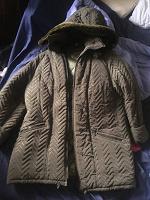 Отдается в дар Куртка-пальто зимняя р 54